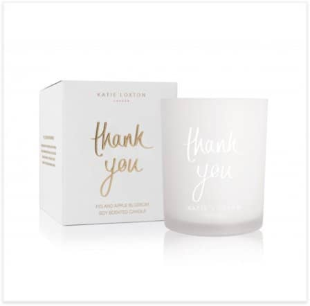 Katie Loxton Sentiment Thank You Candle