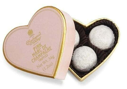 What to put in bridesmaid gift boxes - Chocolates
